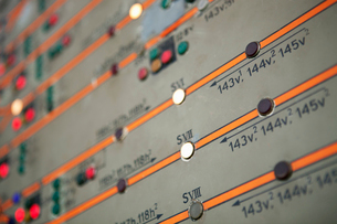 Sweden, Close-up of control panel with push buttonsの写真素材 [FYI02198903]