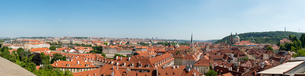 Czech Republic, Panorama of Pragueの写真素材 [FYI02200320]