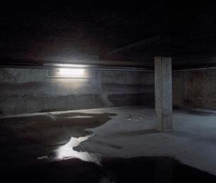Sweden, Skane, Malmo, Underground car parkの写真素材 [FYI02201638]