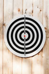 View of dartboardの写真素材 [FYI02202557]