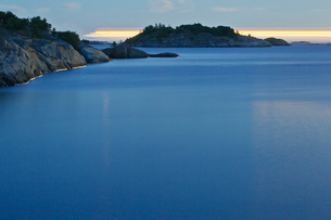 Finland, Eckero, Berghamn, View of Aland Archipelagoの写真素材 [FYI02203238]