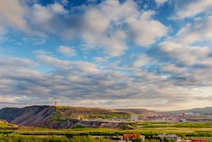 Sweden, Lapland, Kiruna, Landscape with iron ore mineの写真素材 [FYI02206276]