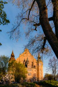 Sweden, Uppland, Stockholm, Djurgarden, Facade of Nordic Museumの写真素材 [FYI02206419]