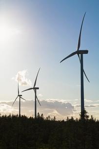 Wind turbinesの写真素材 [FYI02206616]