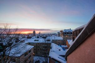 Roof tops in Swedenの写真素材 [FYI02206767]