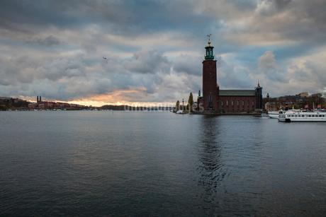 Stockholm City Hall in Swedenの写真素材 [FYI02206816]