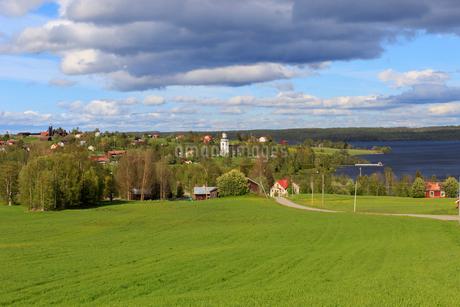 Farmland in Hoverberg, Swedenの写真素材 [FYI02207307]