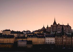 Buildings in Mariaberget, Swedenの写真素材 [FYI02207631]