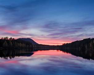 Osterdal River in Dalarna, Swedenの写真素材 [FYI02207734]