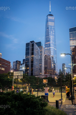 One World Trade Centre in New York Cityの写真素材 [FYI02207835]