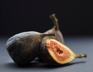 Three figs in Swedenの写真素材 [FYI02207853]