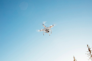 Drone in the skyの写真素材 [FYI02207961]