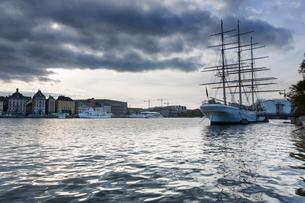 A view of Gamla Stan in Swedenの写真素材 [FYI02208087]