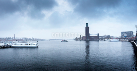 Stockholm City Hal in Swedenの写真素材 [FYI02208098]