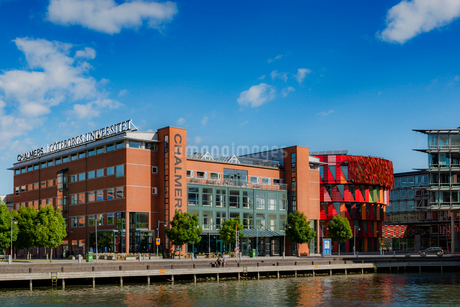Sweden, Gothenburg, Chalmers University Building in Lindholmen Science Parkの写真素材 [FYI02208152]