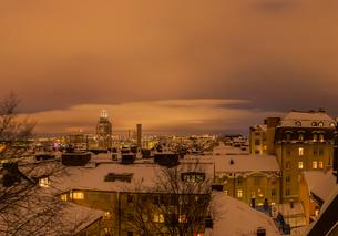 Roof tops in Swedenの写真素材 [FYI02208196]