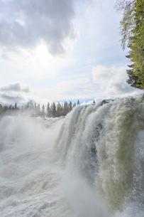 Waterfall in Jamtland, Swedenの写真素材 [FYI02208302]