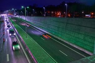 Norra Lanken Motorway in Stockholm, Swedenの写真素材 [FYI02208485]