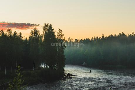 Byske River in Swedenの写真素材 [FYI02208509]
