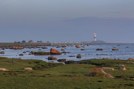 Rocks by sea in Oland, Swedenの写真素材 [FYI02208570]