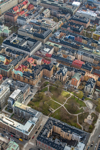 Aerial view of Stockholm, Swedenの写真素材 [FYI02209003]