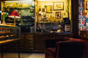 Antique store in Swedenの写真素材 [FYI02209046]