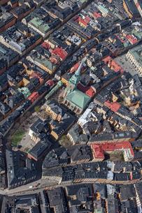 Aerial view of Gamla Stan in Stockholm, Swedenの写真素材 [FYI02209086]