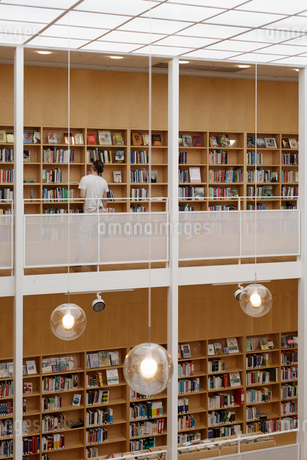 Malmo City Library in Malmo, Swedenの写真素材 [FYI02209141]