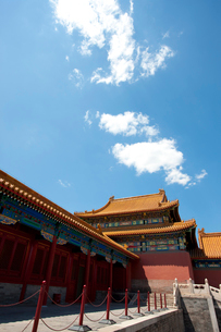 The Forbidden City, Beijing, Chinaの写真素材 [FYI02209761]