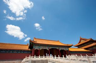 The Forbidden City, Beijing, Chinaの写真素材 [FYI02209803]