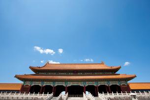 The Forbidden City, Beijing, Chinaの写真素材 [FYI02209915]