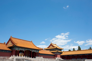 The Forbidden City, Beijing, Chinaの写真素材 [FYI02209925]