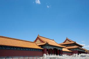 The Forbidden City, Beijing, Chinaの写真素材 [FYI02209950]