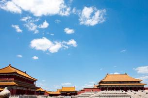 The Forbidden City, Beijing, Chinaの写真素材 [FYI02210019]