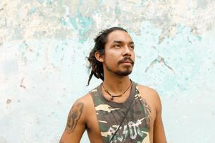Portrait of man in Guatemalaの写真素材 [FYI02210194]
