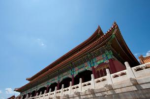 The Forbidden City, Beijing, Chinaの写真素材 [FYI02210235]