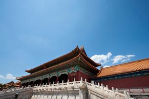 The Forbidden City, Beijing, Chinaの写真素材 [FYI02210293]