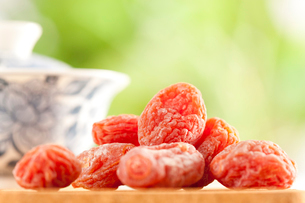 Plum candy, Chinese specialtyの写真素材 [FYI02210338]