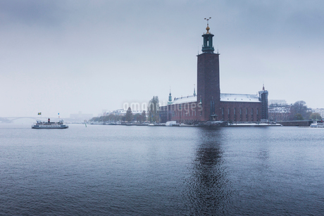 Stockholm City Hal in Swedenの写真素材 [FYI02210501]