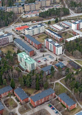 Aerial view of Uppsala, Swedenの写真素材 [FYI02210800]