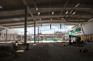 Construction site in Gothenburg, Swedenの写真素材 [FYI02210929]