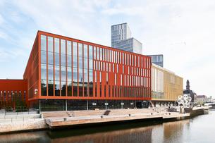 Malmo Live building in Skane, Swedenの写真素材 [FYI02210955]