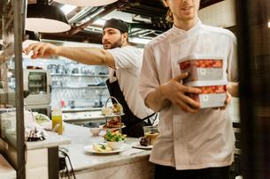 Chefs at bakery in Swedenの写真素材 [FYI02211151]