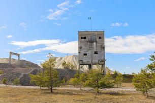 Limestone factory in Furillen, Swedenの写真素材 [FYI02211428]