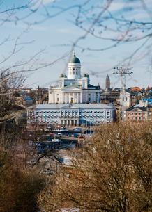 Helsinki Cathedral in Helsinki, Finlandの写真素材 [FYI02211437]