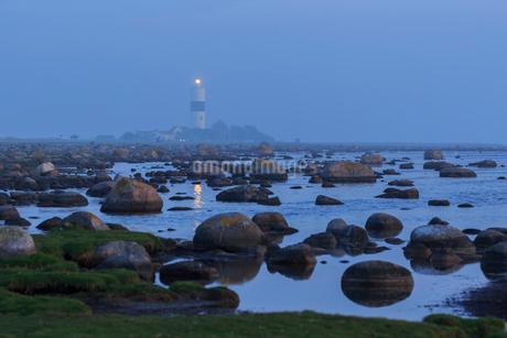 Rocks by sea in Oland, Swedenの写真素材 [FYI02211511]