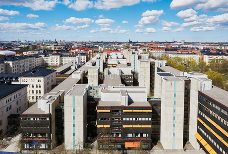 Cityscape in Stockholm, Swedenの写真素材 [FYI02211659]