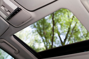 Car sun roofの写真素材 [FYI02212742]
