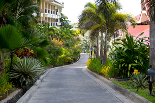 Holiday villas on Boracay island, Philippinesの写真素材 [FYI02213849]