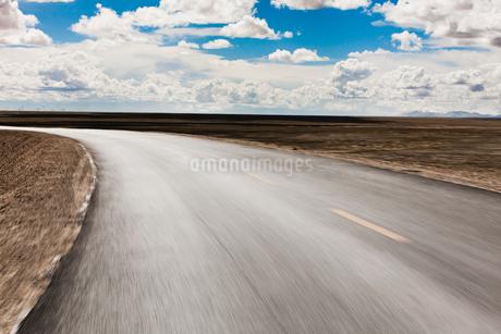 Road, Qinghai Provinceの写真素材 [FYI02213953]